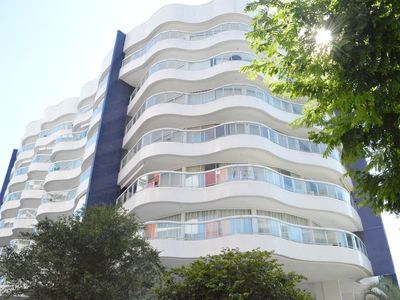 Photo for Property 500 meters from the beach with beach services provided by the condominium