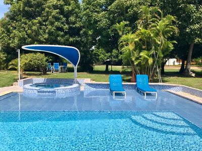 Photo for EL PEÃ'ON CONDOMINIUM HOUSE WITH PRIVATE POOL IN GIRARDOT