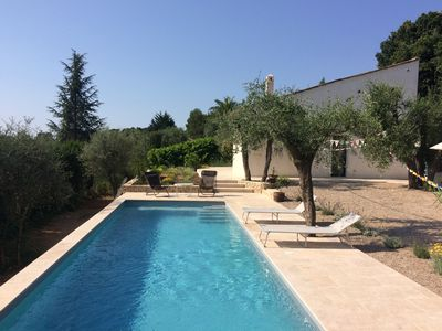 Photo for Villa in an olive grove with swimming pool