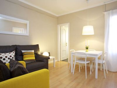 Photo for Apartment 867 m from the center of Barcelona with Internet, Air conditioning, Lift (992218)