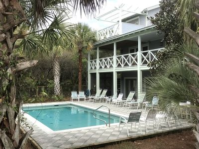 Photo for August availability! South of 30A! Large Private Pool! Gulf view!Privacy & Space