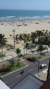Photo for #AP FOOT IN THE SAND - FRONT WITH VIEWS BEACH - PARKING - ZAP (18) 99612070