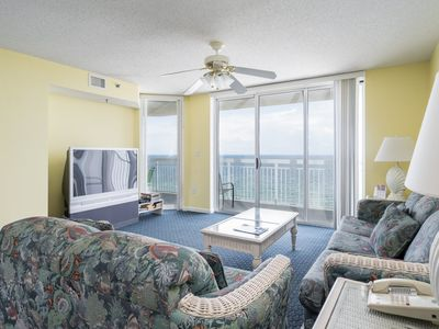 Photo for Airy and spacious, this Crescent Shores condo is cool and comfortable. | Crescent Shores N. - 1002