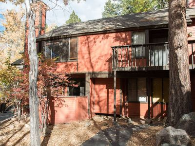 Photo for Ski in Ski out @ Snow Summit, warm comfortable Big Bear Townhouse