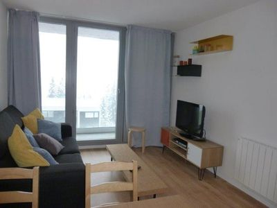 Photo for 50m from shops, 3rd floor, view mountain, balcony, tv, 46m², Flaine