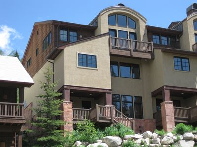 Photo for Solitude Townhouse - Stunning views of Village and Canyon  -  Sleeps 8 -11