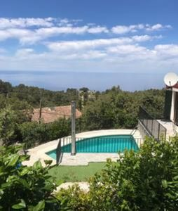 Photo for Dreamlike Holiday Home with Pool, Wi-Fi & Panoramic Views of the Mountains and Sea