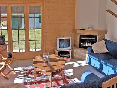 Photo for Apartment in the center of Ormont-Dessus with Lift, Parking, Internet, Washing machine (40791)