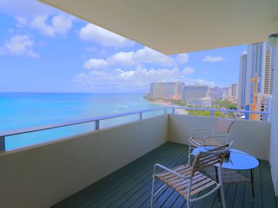 Photo for Ocean Front One Bedroom with Spectacular Ocean & Sunset Views