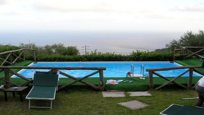 Photo for Small Assuma (F) independent apartment in a complex with shared pool AmalfiCoast