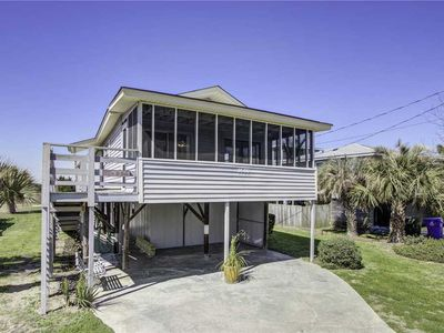 Photo for Updated home, steps from beach with private dock and rooftop deck!