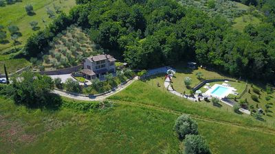 Photo for Umbria | Agriturismo Capitolini | Charming farmhouse with pool and garden