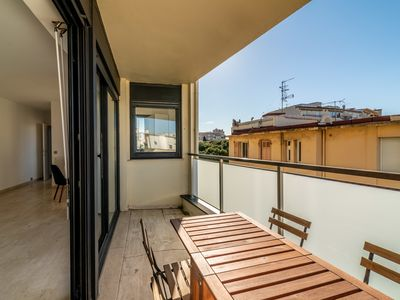 Photo for Nice studio close to beach and yacht club by easyBNB