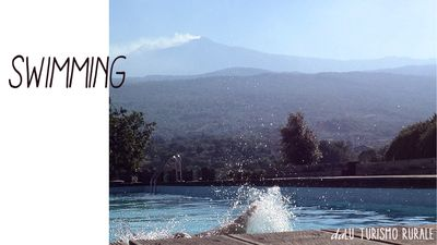 Photo for on etna a stone's throw from the sea with private pool