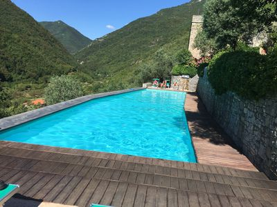 stunning pool for guests staying at Colletta