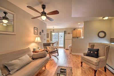 This cozy unit features 1 bedroom, 1 bathroom and space for up to 4 guests.