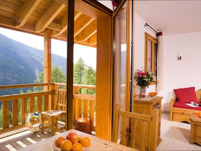 Photo for Résidence Le Balcon des Airelles **** - 2 Room Apartment + 6 People Cabin