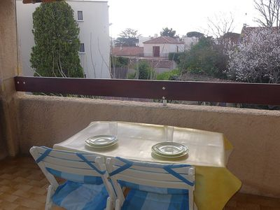 Photo for Apartment 429 m from the center of Saint-Cyr-sur-Mer with Internet, Terrace, Washing machine (453700)