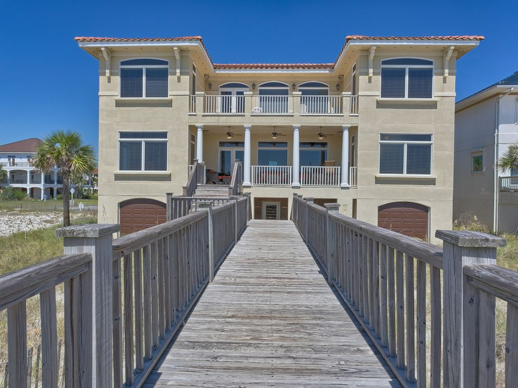 Beach dream gulf shores gulf front vacation house rental for Dream home rentals