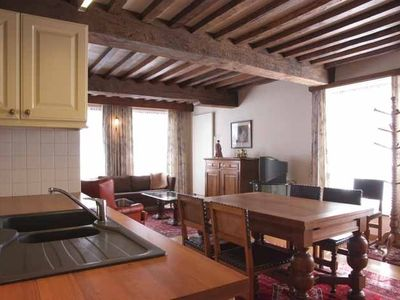 Photo for Cosy quality two storey holiday flat in medieval city centre, Casa Michelangelo