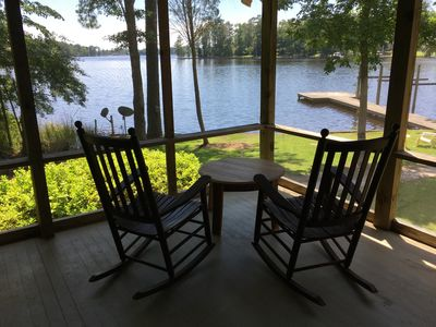 Photo for Waterfront 3 Bedroom, 2 Bath on secluded lot on Bath Creek. Amazing views