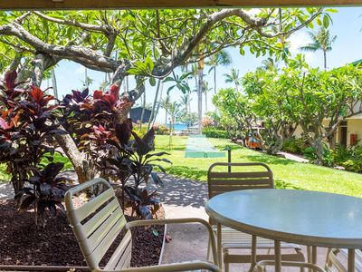 Photo for Napili Shores - B107  Ocean View 1 Bedroom Lower Unit - Just steps from the