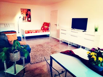 Photo for Sunny apartment at the spa park