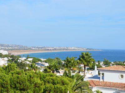 Photo for Algarve luxury seaview apartment with pool near beaches