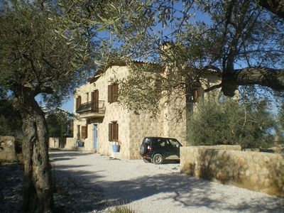 Photo for Stone villa set in olive trees & tropical gardens large pool, sleeps 10/12