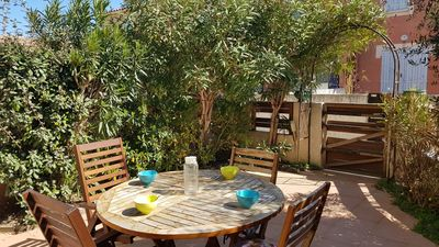 Photo for NARBONNE-PLAGE Comfortable terraced house 4 rooms