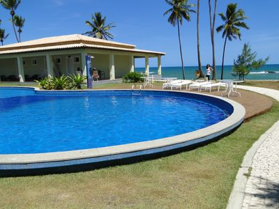 Photo for Luxury Village with pool and facing the sea WIFI