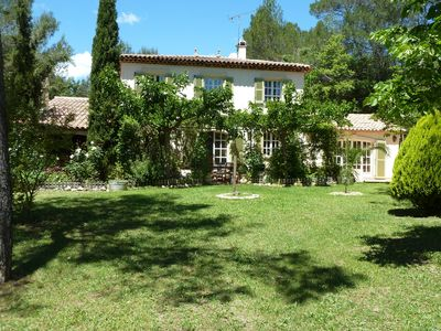 Photo for LORGUES PROVENCAL HOUSE TYPE BASTIDE 10PERS / 14 PERS