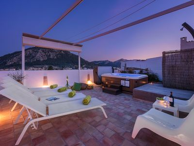 Photo for Casa Hill is a newly renovated, stylish townhouse just a few minutes from the centre of Pollensa