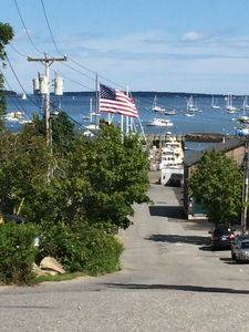 Apple Lane, entrance fro Great Harbor marina