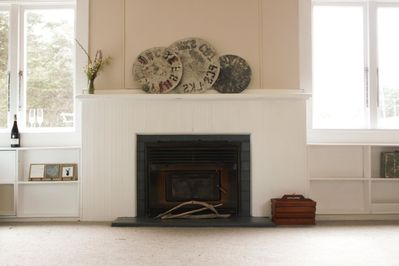 Warm fire for the cooler winter months
