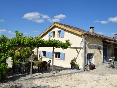 Photo for Characteristic farmhouse with swimming pool in the beautiful French countryside