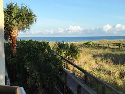 Photo for Outstanding Location!! Right on the Beach, 1 Bed, 2 Bath Condo, Gulf Strand #203