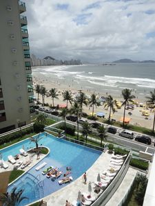 Photo for Wonderful Apartment with Ocean Front View and Balcony with barbecue