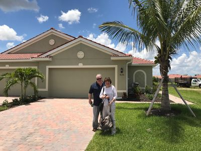Photo for NO STEPS!1 ONE LEVEL FLOOR PLAN, NEWER VILLA, FT MYERS