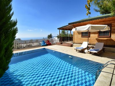 Photo for Romantic Honeymoon Cottage with Sea Views and Secluced Pool