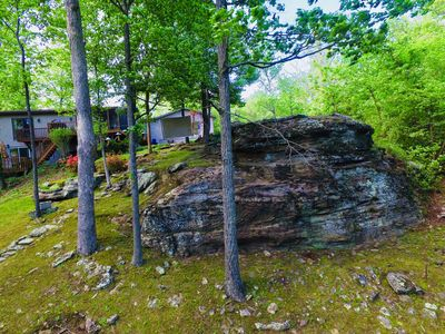 "This is why we call it ""The Rock"" vacation rental"