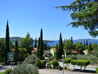 Photo for Beautiful apartment with AC and wifi in Trogir (4 km), with beautiful seaside location