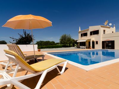 Photo for Villa V4 with Private Pool close to Marinha Beach