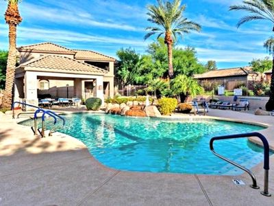 Photo for Excellent Scottsdale Location. Quiet Gated Community W/ Pool Spa & Fitness ctr
