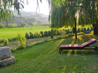 Photo for Relaxing farmhouse with a view