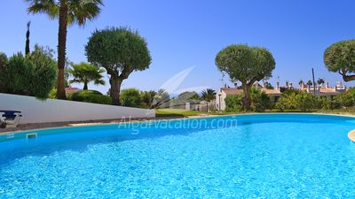 Photo for Fantastic 2 bed townhouse,sea views,pool,A/C,WIFI,restaurants closeby!Beach 400m