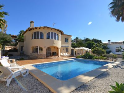 Photo for Detached villa with private swimming pool located near Benissa