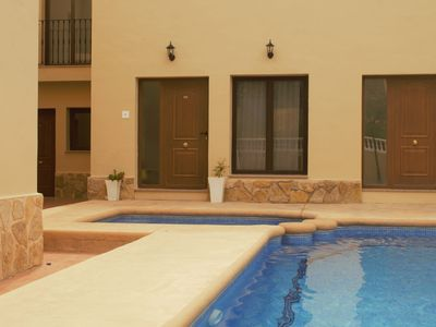 Photo for Casa Almendros, Holiday appartment with pool in the tranquil village Benigembla