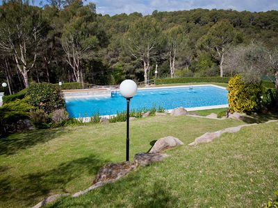 Photo for 2 bedroom Apartment, sleeps 6 in Tamariu with Pool