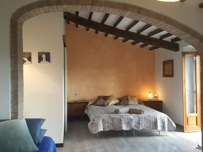 Photo for Terme di Petriolo - weekly rental apartment 2 to 10 people.